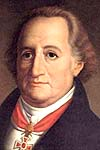 Goethe, Johann Wolfgang von portréja