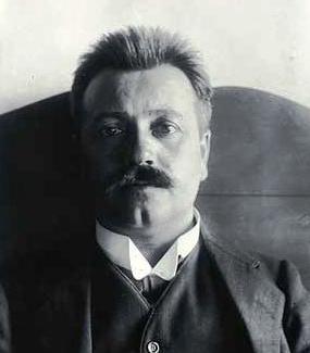 Larsen, Thøger portréja