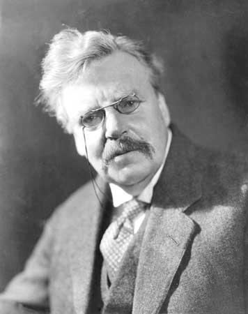 Chesterton, Gilbert Keith portréja
