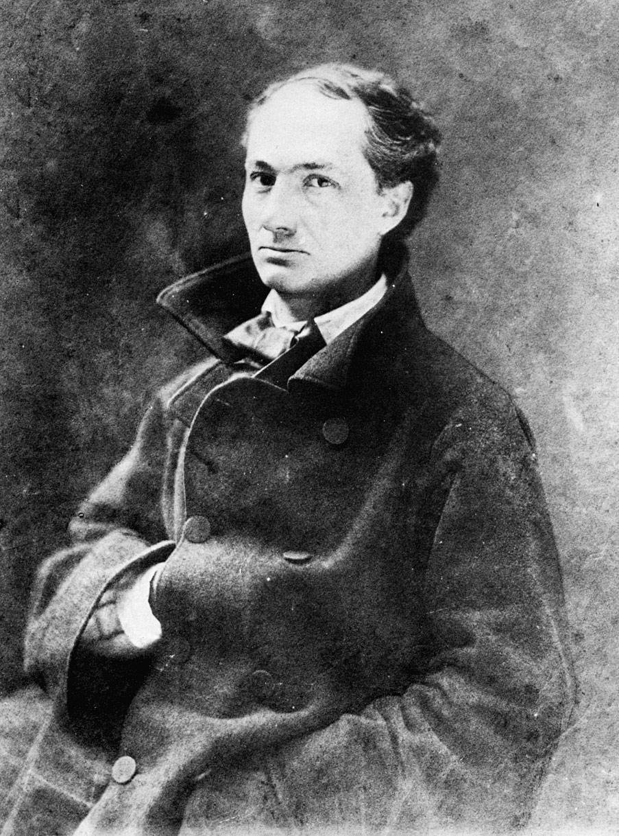 Baudelaire, Charles portréja