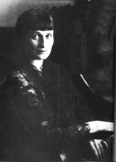 Portre of Ahmatova, Anna Andrejevna