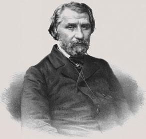 Turgenyev, Ivan Szergejevics portréja