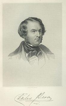 Lever, Charles James portréja