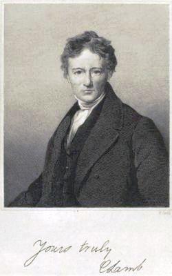 Lamb, Charles portréja