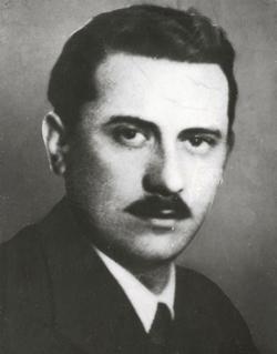 Pásztor Béla portréja