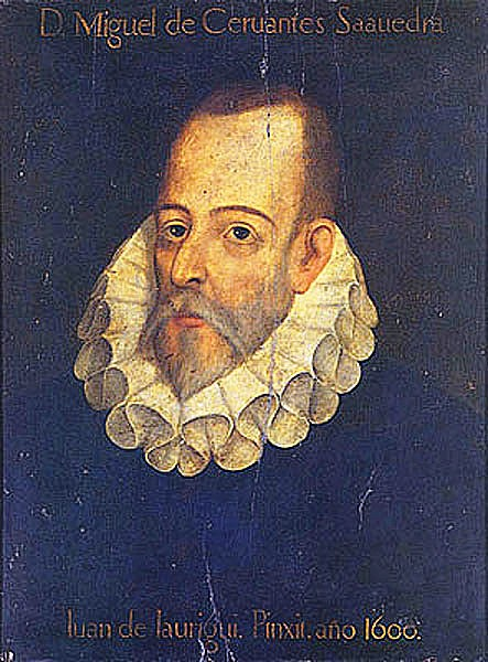 Cervantes Saavedra, Miguel de portréja