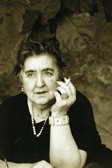 Merini, Alda portréja